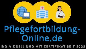 Kursbereich von www.pflegefortbildung-online.de
